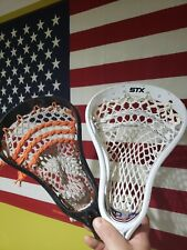 Two, Strung Lacrosse Heads: Stx Viper 2 and a Warrior Torch