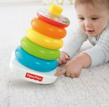 Fisher-Price Rock-a-Stack Toy Learning Toys Rockastack For Baby Basics Ring XMAS