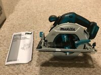 "New Makita XSH03 Cordless Brushless 6 1/2"" Circular Saw 18 Volt Blade Bare Tool"