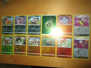 Pokemon CHAMPIONS PATH * REVERSE HOLO Lot part complete 12 x  cards /73