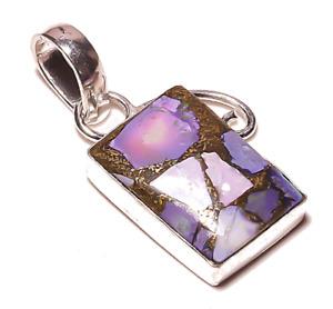 Natural Tourmaline Gemstone Unique Fashion Vintage Style Design Pendant Necklace
