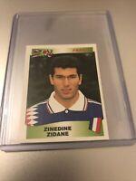 PANINI EUROPEAN CHAMPIONSHIP 1996 ZINEDINE ZIDANE STICKER NO 187