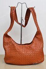Bottega Veneta Intrecciato Woven Nappa Leather 145552 Crossbody Authentic Used