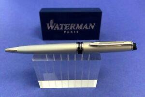 Waterman Expert Silber Metallic Kugelschreiber Ballpoint Sammlerstück !