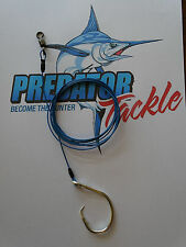 Shark Rig 98kg 215 LB Coated 316 S/s49 Strand Wire 14/0 Circle Hook