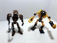 LEGO Bionicle LOT: Hewkii 8912 + Onewa 8604