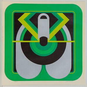 Künstler unbekannt/ Farbserigrafie/handsigniert nummeriert/ 200 Exe./von 1974/4.
