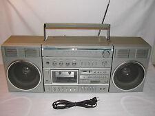Vintage Sears SR2100 Series Portable AM/FM Tape Radio Boombox Ghetto Blaster