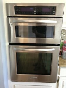 KitchenAid Wall Oven/Microwave Combo. Convection