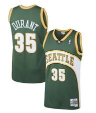 2007-08 Seattle Supersonic Kevin Durant Mitchell & Ness Mesh NBA Swingman Jersey