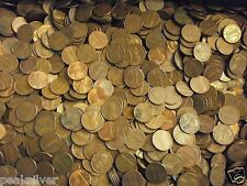 1500 Lincoln Copper Cents 10 Pound Lot Years 1959-1982  + 25 Bonus Lincoln cents