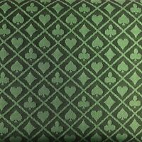 Green Two Tone Suited Speed Cloth Poker Table Felt 100% Polyester 120X60 NEW