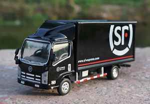 1/64 Scale ISUZU SF Express Delivery Van Truck Alloy Model Car