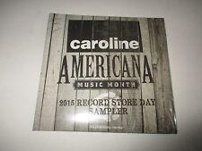 Caroline Americana Music Month CD Sampler B Carlile Amos Lee Lera Lynn 2015 NEW