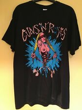More details for guns n roses official pretty tied up 2017 reprint 1992 tour t shirt large new