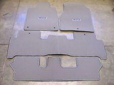 Genuine OEM 2007-2013 Acura MDX Medium Gray Carpet Floor Mats Set