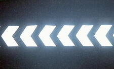 IRON ON REFLECTIVE CHEVRONS tape TRANSFER decal