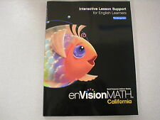enVision Math Kindergarten CA Interactive Lesson Support for ELL 0328384763