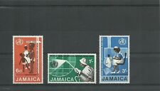 JAMAICA SG277-279 20TH ANNIV OF W H O  SET MNH
