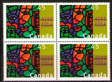 Canada 1996 Sc1603 Mi1539 3.60 MiEu  1 block  mnh  AIDS Awareness
