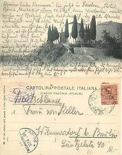 GAINO, L. di Garda, Chiesa del Gaino, CARTOLINA POSTALE ANIMATA  (B-L 006)