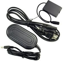 Panasonic DMW-AC8 Replacement AC Adapter with DMW-DCC9 coupler Kit by CS Power