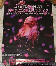 Ayumi Hamasaki Countdown Live 2012-2013 A Wake Up Taiwan Promo Poster