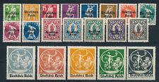 Deutsches Reich 119 - 138 , ** , *  , Einzelmarken Auswahl