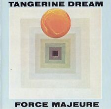 """TANGERINE DREAN """"FORCE MAJEURE"""" WEST GERMAN CD / SCHULZE - FROESE - CHRIS FRANKE"""