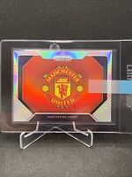 2020-21 Prizm EPL Premier League Silver Team Logo Manchester United Case Hit SP!