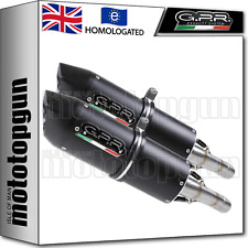 GPR 2 EXHAUST HOM FURORE BLACK MOTO MORINI CORSARO 1200 2011 11