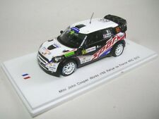 Mini John Cooper N.69 Rally de France 2012 Dumas-baumel 1 43 Spark Sf040