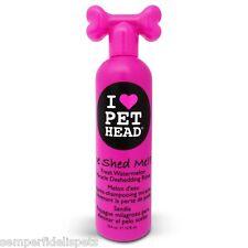 "Pet Head ""De Shed Me!!"" Miracle Deshedding Rinse 354ml Fresh Watermelon Scent"