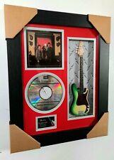 The Stranglers Framed Bass Guitar, CD & Sleeve Presentation