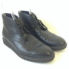 Mens Cole Haan Black Leather Original Style Chukka Ankle Boots 11.5 M