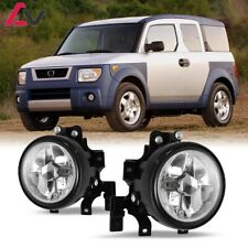 For Honda Element 03-06 Clear Lens Pair Bumper Fog Light Lamp OE Replacement DOT