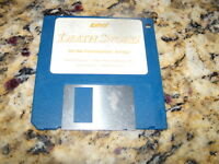 "EPYX Death Sword Commodore Amiga Program on 3.5"" floppy disk"
