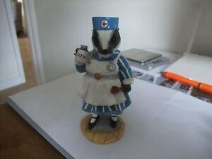 Magical Tales Of Honeysuckle Hill Figurine Nurse Badger  Regency Fine Arts 2002