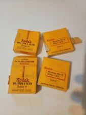 Kodak Series VI Metal Lens Hood Adapter Ring Filters Mount Adapter Lot Vintage