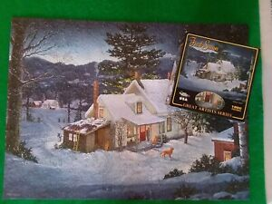 WINTER GOLD By FRED SWAN 1000 PIECE PUZZLE From White Mountain Complete