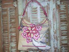 sac à main porté main et bandoulière hobo Oillily neuf à fleurs