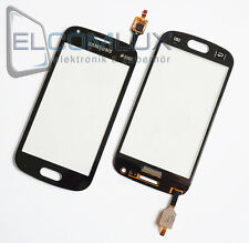 Touch Screen Glas Digitizer Display Samsung Galaxy S Duos 2 S7582 S7580 Schwarz