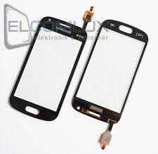 Touch Screen Glas Digitizer Display Samsung Galaxy S Duos 2 S7582 S7580 Schwarz