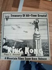 cinema home movie super 8 king kong 6. 400 foot reels full feature film