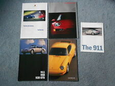1992-1998 PORSCHE 911 CARRERA TURBO TARGA 928 GTS 968 BOXSTER BROCHURE LOT OEM