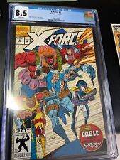 X-Force #1 CGC 8.5 White Pages Marvel Comics 8/91