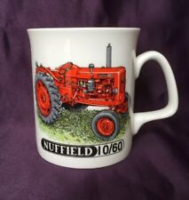 Bone China Mug Nuffield Tractor Hand Decorated in Wales Gift