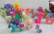 19 Pc Bag of Mix Little Ponies With Designs & Variety of Colors, Some Hasbro