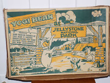 Marx Yogi Bear at Jellystone National Park Play Set in Box