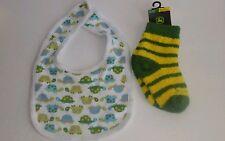 Fox River Mills Green/Yellow 12-24 mos. socks + NB Circo Bibb